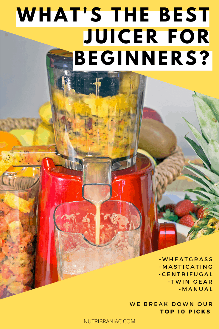 Juicing for beginners is tough. And finding the best juicer for beginners can be even tougher. There are tons of juicers on the market. Which one is right for you? Don't worry! We're here to help. We look at everything from the best masticating juicers to the best centrifugal juicers and everything in between. We'll help you find the best juicer machine for you. #bestjuicers #juicingforbeginnerstips #juicingforbeginnersgetstarted #bestjuicertobuy #juicingonabudget #healthandwellness