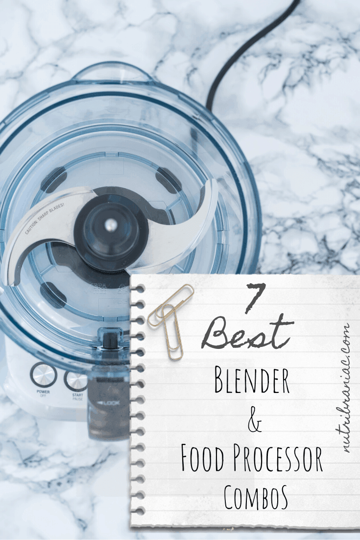 Food processor vs blender: Why choose when you can have both? We look at the 7 best blender food processor combos on the market.  Our guide reviews everything from setting to pricing plus much more. Check out our detailed breakdown. #blenderorfoodprocessor #bestblendermachines #bestsmoothieblender #blenderpiecrustfoodprocessor #bestblenderforbabyfood #healthandwellness #veganlifestyle