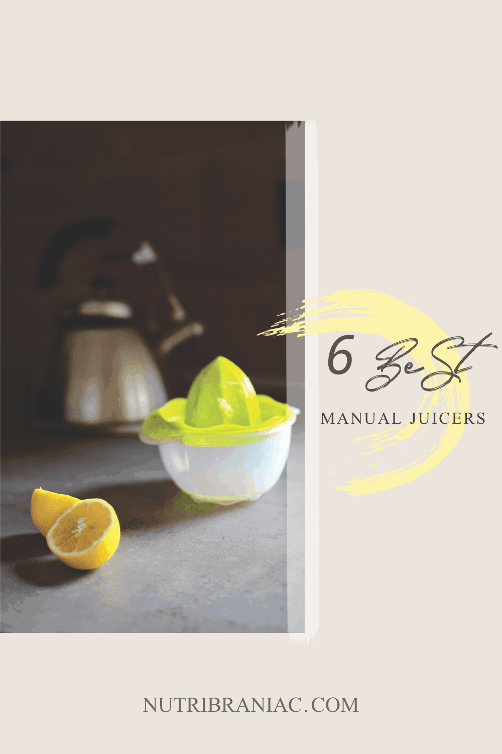 Having a good manual juicer in your kitchen arsenal is essential. A manual juicer is an affordable option compared to other advanced juicers. In our helpful buying, we share our favorite manual juicers on the market today. #manualjuicerproducts #manualjuicerstainlesssteel #manualjuicermachine #citrusjuicermanual #juicingrecipes #juicingforbeginners #juicingonabudget
