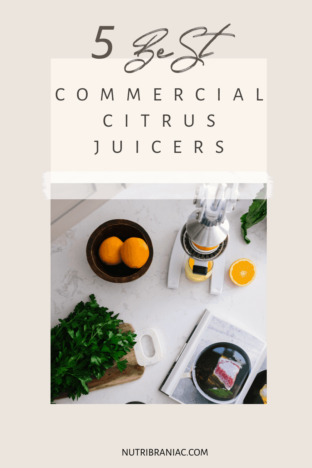 Love fresh orange juice in the morning? Then you need the right citrus juicer.  Whether you own a juice bar or are just juicing at home, the right equipment makes all the difference.  Check out our buyer's guide to the best commercial citrus juicer to get the most out of your juicing recipes.  #bestjuicermachine #juicingforhealth #juicingforbeginners #juicingonabudget #citrusjuicermanual #healthandwellness #bestjuicertobuy