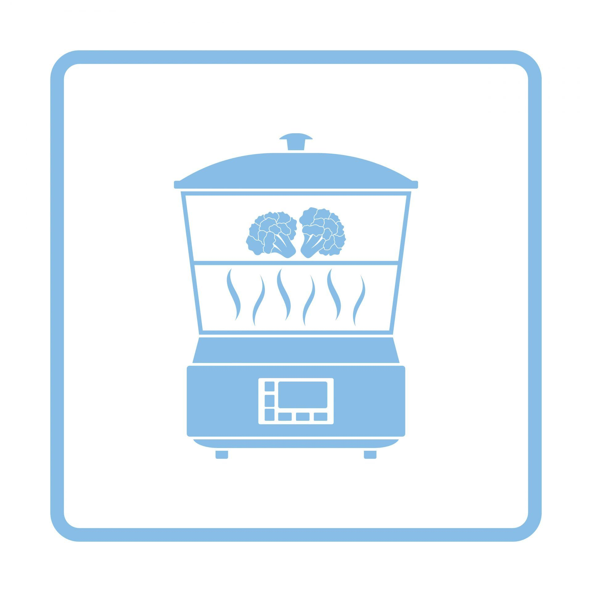Kitchen steamer icon