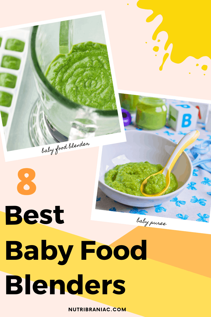 Making your own baby food can be a hassle. To make things easier, you need the right equipment. With so many options out there, it's hard to know which is the best blender for baby food. Worry not! In our helpful buying guide, we help you find the perfect baby food blender for you and your baby. #immersionblenderbabyfood #babyfoodinblender #howtomakebabyfoodwithblender #bestblender #bestblendermachine #magicbulletbabyfood