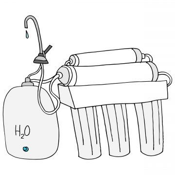 An image of a reverse osmosis system.