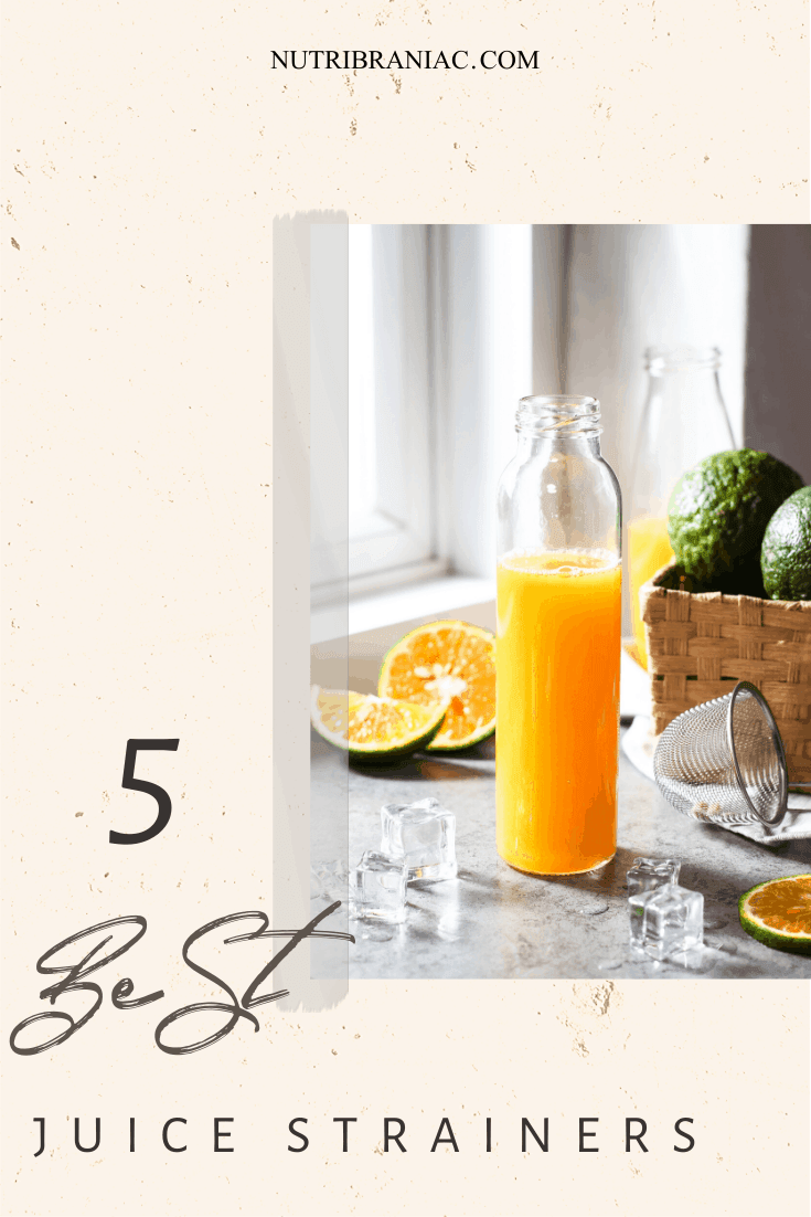 Love to juice but HATE the pulp? Worry not! This article is for you. We searched high and low for the best juice stainer. Check out our guide to make sure your juice stays pulp-free. #celeryjuicestrainer #diyjuicestrainer #strainerforjuice #bestjuicer #juicingforbeginners #juicingrecipes #juicingforhealth