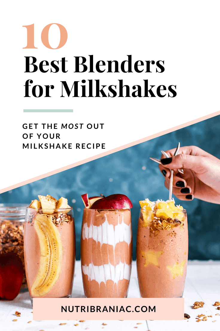 Are you searching for the best blender for milkshakes? Don't worry! We've done the research for you. Did you know there's a science to crafting the best milkshake recipe? First step: You need the right milkshake blender. #bestblendersmachine #bestblenderreviews